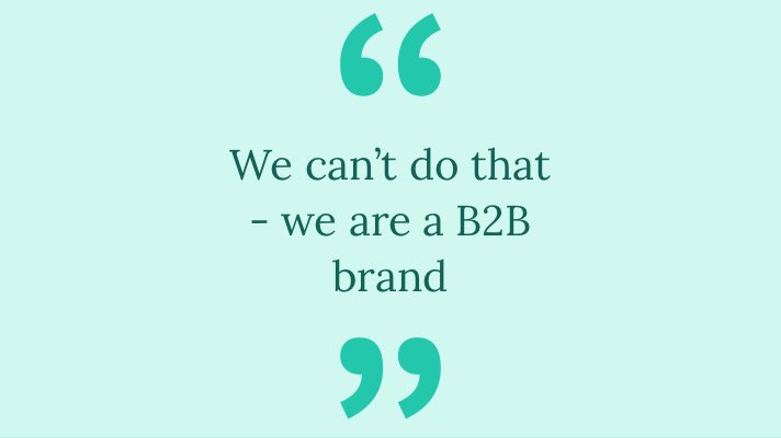 Read this if you're in B2B marketing